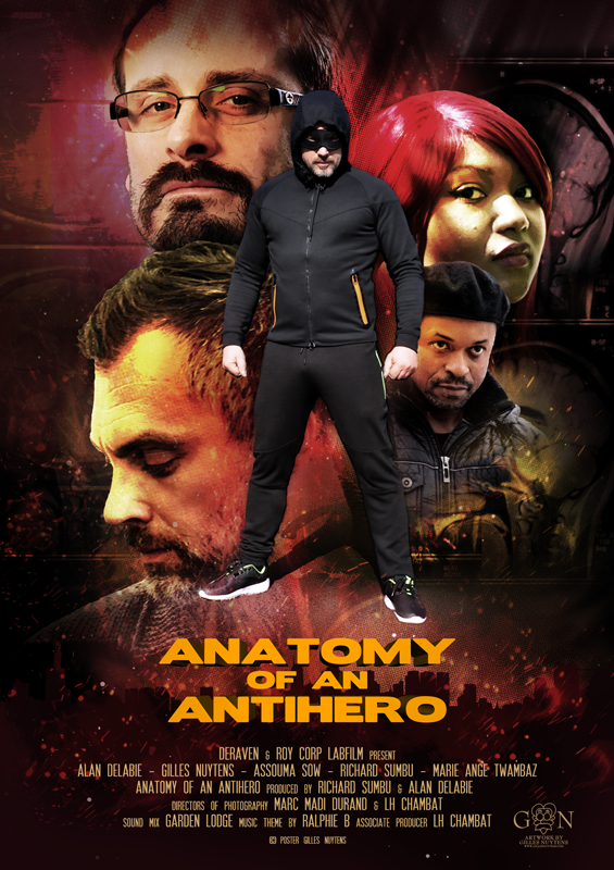 Gilles Nuytens - Anatomy of an Antihero - Poster 1